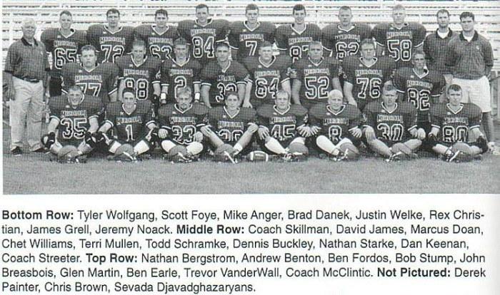 1999 Football Semifinalists