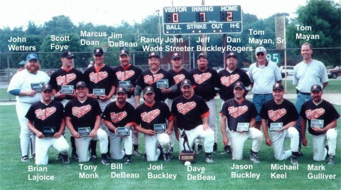 2001 State Champions